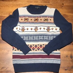 J Crew Jeweled Sweater